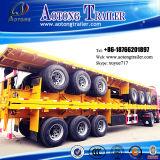 2-3 as 35t Container Dedicated Flat Lowbed Semi Trailer (geschikt voor 30 voet container) (LAT9300TJZG)