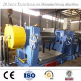 China Rubber mixer & Two roll Mill Machine with Stockblender