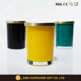 Runde Glasspeicherglas-luftdichte Nahrungsmittelglasstash-Behälter