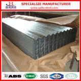 Hoja acanalada galvanizada del hierro del material para techos del precio competitivo