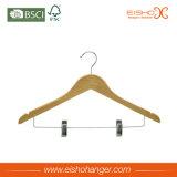 Bride de fixation en bois de chemise de nature avec deux clips (WL8001)