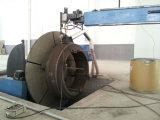 石臼および粉砕ローラーの溶接装置