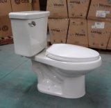 Ökonomische hohe Leistungsfähigkeits-längliche zweiteilige Toilette