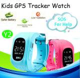 GPS van jonge geitjes het Slimme Horloge van het Spoor met Sos Functie (Y2)