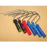 25cm柔らかい18mm Elitacolor (虹の縞)) 8mm棒PPのハンドルが付いているアクリルのペンキローラーカバー