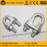 Grand clip de corde malléable de fil d'acier de l'approvisionnement DIN 741 Galv