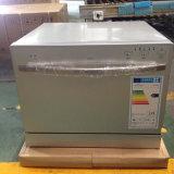 6-15 Conjuntos de máquina de lavar louça automática eletrônica de uso doméstico