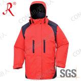 Revestimento de esqui impermeável e respirável para o inverno (QF-606)
