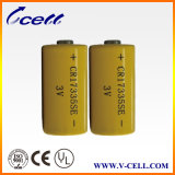 3V Li/Mno2 Cylindrical Battery Li Mno2 High Energy Lithium Battery 1800mAh Cr17335se