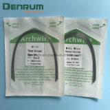 Denrumの歯科矯正学のアーチはActived Nitiワイヤーを熱的にワイヤーで縛る