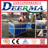 Ligne en plastique chaîne de production de pipe de tube pipe d'extrusion de conduites d'eau de PVC de tube faisant la machine d'extrudeuse de pipe de tubercule de PVC de machine