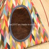As barracas da base do animal de estimação aquecem o Teepee da barraca do cão de animal de estimação da esteira da casa do gato