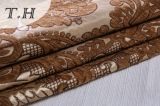 Tela rasa do sofá do jacquard do Chenille de Brown por 400GSM