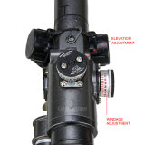 caça tática Riflescope de Airsoft do padrão militar do sistema ótico 3-9X24 para ao ar livre