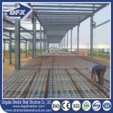 La structure métallique légère préfabriquée/a préfabriqué l'entrepôt pour le but de production industrielle