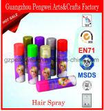 Aerosol de pelo lavable del brillo de Fasionable Mutilcolor
