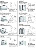 Accesorios de la ducha de Frameless para las series de la abrazadera del cuarto de baño