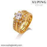 14303 anello elegante di colore dell'oro dei monili 24k di modo per le donne