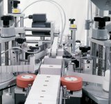 Máquina de etiquetas quadrada redonda vertical automática cheia do frasco