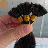 Capelli umani pre legati indiani di Remy dei capelli piani di punta