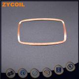 A ligação do auto do núcleo 16uh do ar esmaltou a bobina do fio