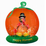 Jack-O-Lanternes gonflables heureuses de Veille de la toussaint de décoration de vacances