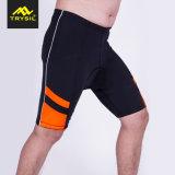 Alti pantaloni elastici di guida degli uomini respirabili del tessuto che ciclano vestiti