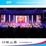 1200 Alquiler de pantalla de alto brillo liendres P3.91 LED LED de la pantalla de vídeo para medios publicitarios