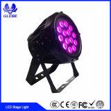 Kan het PARI van de Hoge Macht DMX512 54*3W RGBW leiden Licht opvoeren