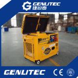малошумный тепловозный генератор 5kw для домашней пользы