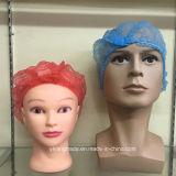 Sombrero quirúrgico disponible no tejido para la fábrica libre de polvo