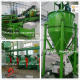 Sistema de recicl Waste do pneu (linha de produção de borracha do pó)