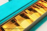 Lederen sieraden doos met een mooie bruine kleur