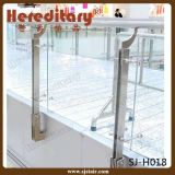 Einkaufszentrum-Edelstahl-Balkon-Glasbalustrade-Handlauf (SJ-H1424)