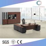 Escritorio de madera L vector de los muebles modernos de la oficina de la dimensión de una variable