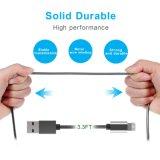 5V 1.5A Cobre puro USB micro cable de carga de datos con diseño de resorte metálico