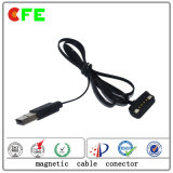 4pin Pogo Pin Magnet Connector com USB Cable Factory