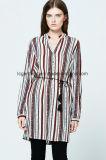 Décontracté en mousseline de soie Dernières V-Neck Formal Skirt Blouse Patterns for Ladies