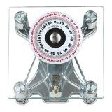 escala analogica del hogar de la dial grande de cristal de 150kg Sqare