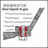 Metallgewinde-Schließfach-dichtungsmasse