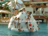 팽창식 수중 스포츠 게임 팽창식 빙산 물 게임