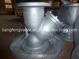 鋳造物鋼鉄はYこし器RF端のフランジを付けたようになった