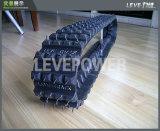 Chenille en caoutchouc spéciale de piste utilisée pour le châssis de robot