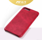 Cassa strutturata alla moda personalizzata del telefono delle cellule rosse da 5.5 pollici