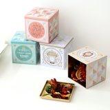 Квадратная коробка олова подарка сбор винограда для промотирования рождества