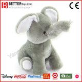 Elefante animal macio bonito do brinquedo para miúdos