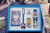 banco de cristal da potência do polímero dos desenhos animados do gato de 8800mAh Doraemon para Smartphones feito em China (azul, brancos)