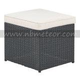 Cube en Seater des meubles 4 de rotin de jardin dinant le modèle promotionnel réglé