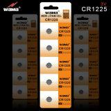 Bateria da pilha da tecla do lítio da boa qualidade Cr1025 3V