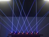 Expositions de lumière laser, éclairage professionnel d'événement